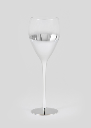 Picture of Metallic Ombre Wine Glass (25cm x 8cm)