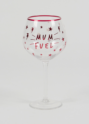 Picture of Mum Fuel Gin Glass (22cm x 11cm)
