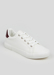 Picture of White Lace Up Trainers