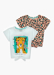 Picture of Girls 2 Pack Leopard Print T-Shirts (4-13yrs)